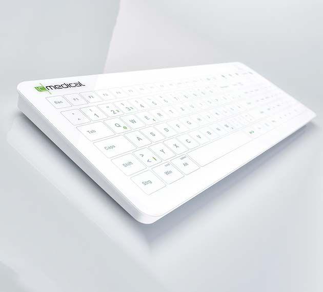 slide image IC Keys Hygienetastatur HT400
